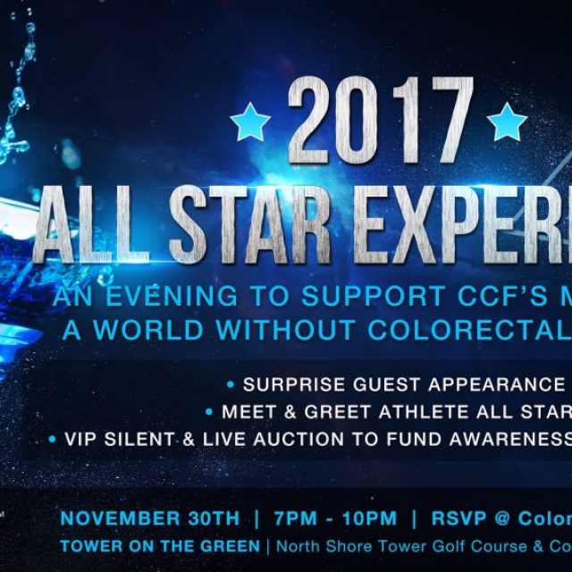 2017 ALL STAR EXPERIENCE – Supporting The  Colon Cancer Foundation