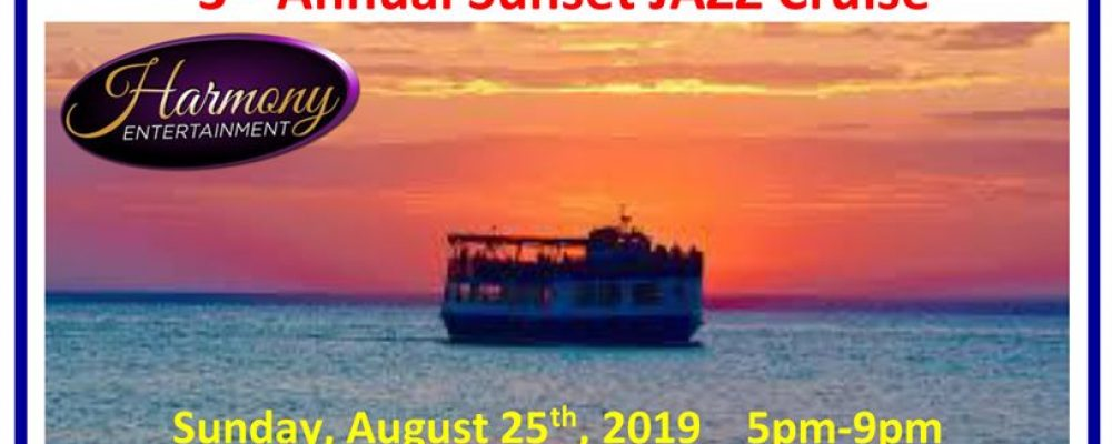 3rd Annual Sunset Jazz Cruise