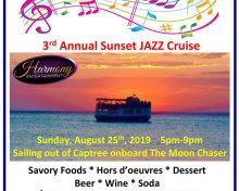 3rd Annual Sunset Jazz Cruise
